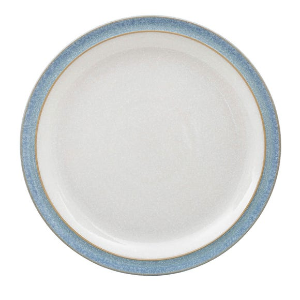 Denby Elements Blue Side Plate Blue