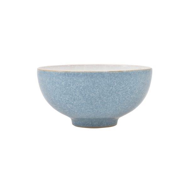 Denby Elements Blue Rice Bowl Blue