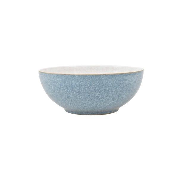 Denby Elements Blue Coupe Bowl Blue