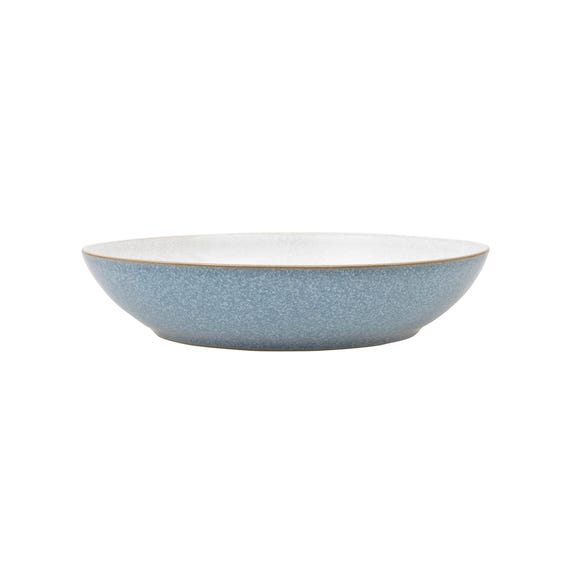 Denby Elements Blue Pasta Bowl Blue