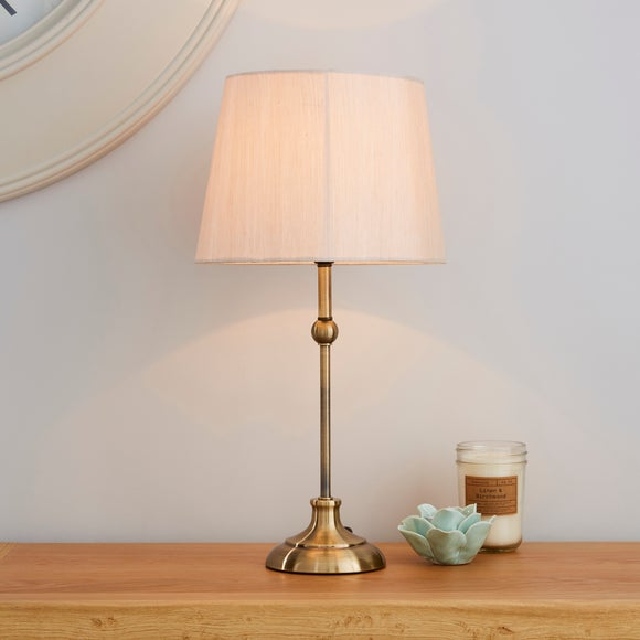 Metal Ball Antique Brass Table Lamp