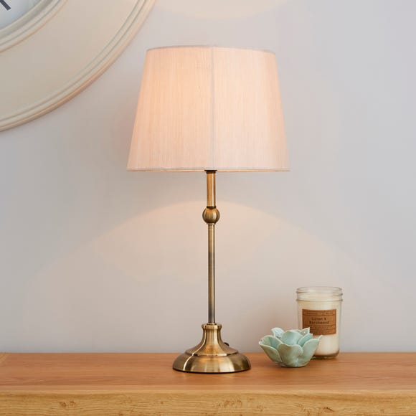 Metal Ball Antique Brass Table Lamp Antique Brass