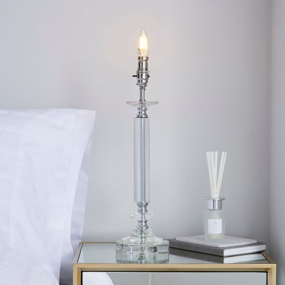 Hale Clear Crystal Table Lamp Base Clear