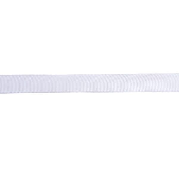 Grosgrain Ribbon White undefined
