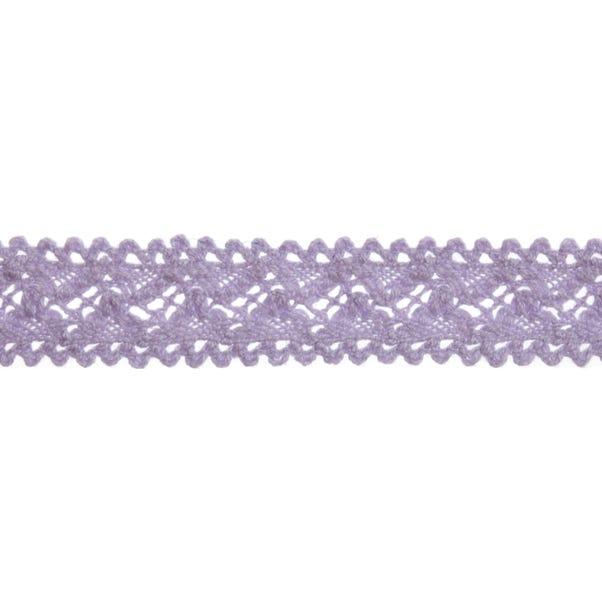 Cotton Lilac Trim