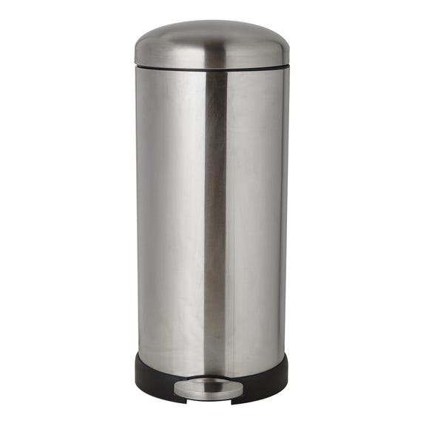 Dunelm 30 Litre Stainless Steel Pedal Bin