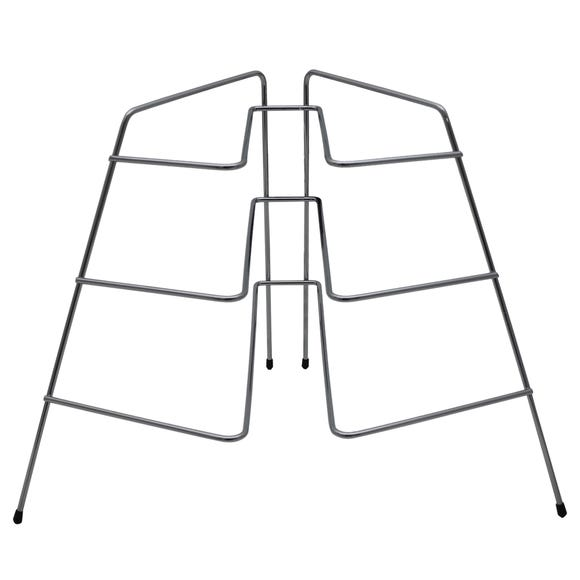 Wire Plate Rack Silver