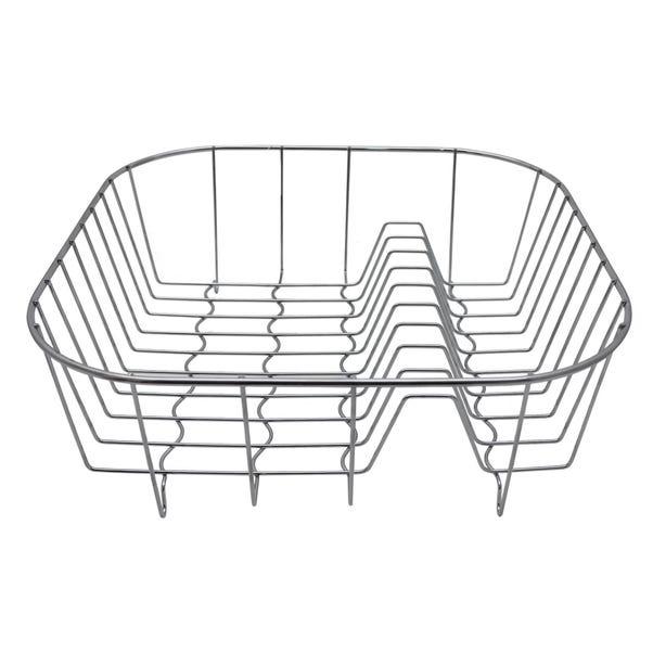 Wire Draining Rack Steel Silver