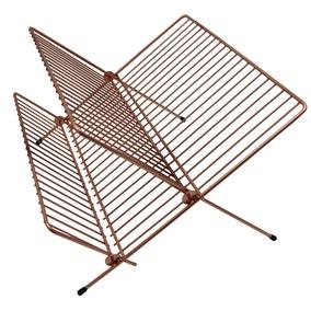 Copper Effect Wire Folding Draining Rack