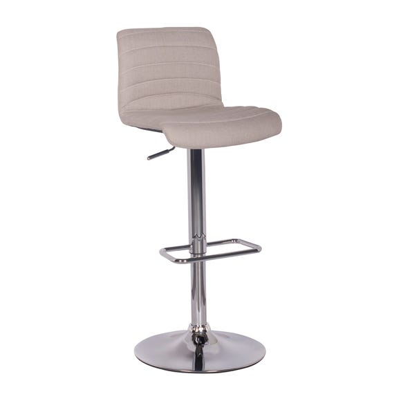 Vigo Bar Stool Natural Fabric Natural