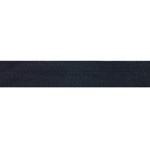 Herringbone Tape Black undefined