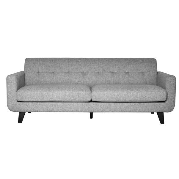 Bexter Grey 3 Seater Sofa Grey Bexter