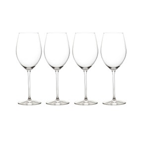 Elegance Pack of 4 White Wine Glasses