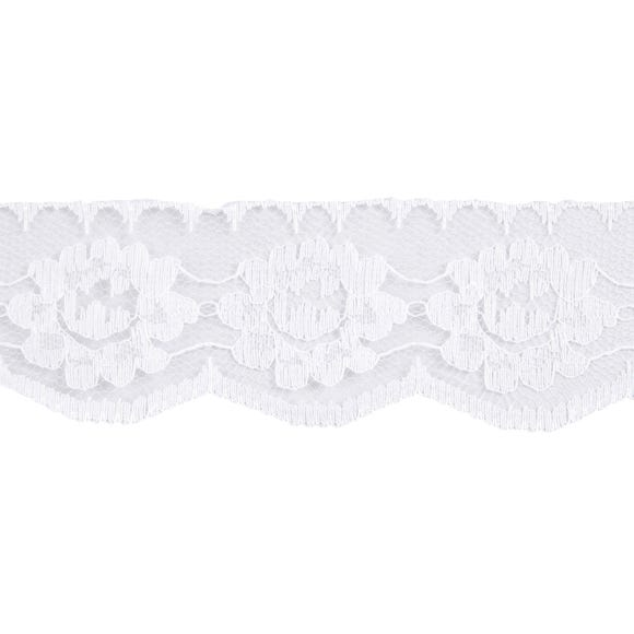 Nylon Lace Ribbon White
