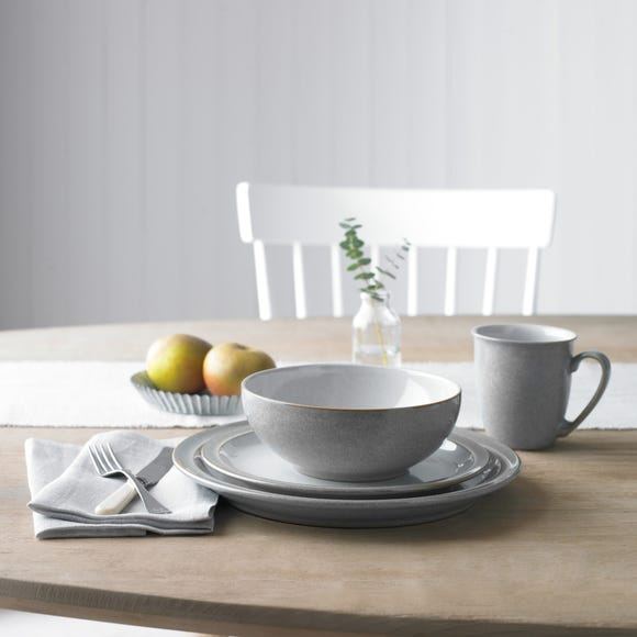 Denby Elements Grey Tapas Bowl Grey