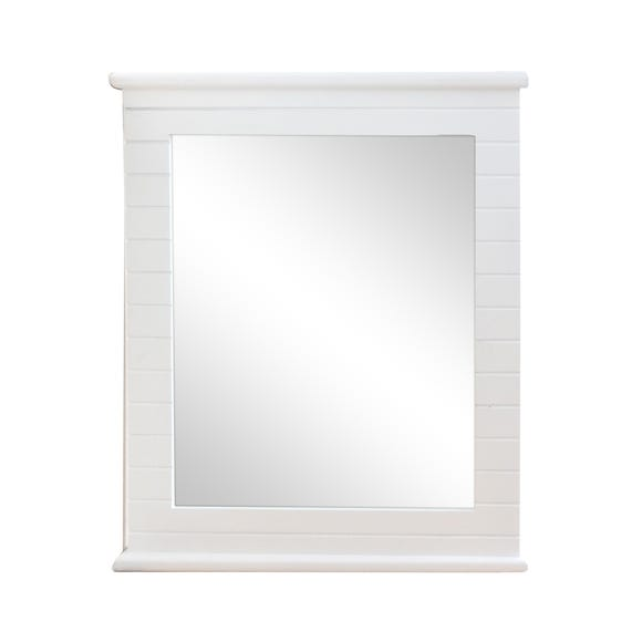 Nautical Mirror White