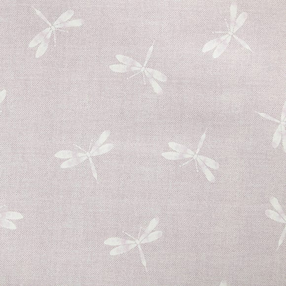 Dragonfly Lilac Fabric Lilac (Purple)