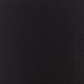 Jacquard Diamond Black PVC