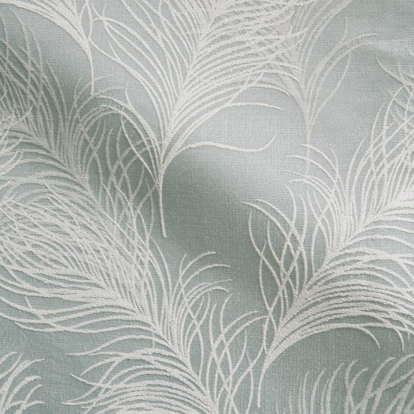 Feathers Duck Egg Fabric Duck Egg (Blue)