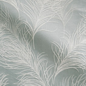 Feathers Duck Egg Fabric