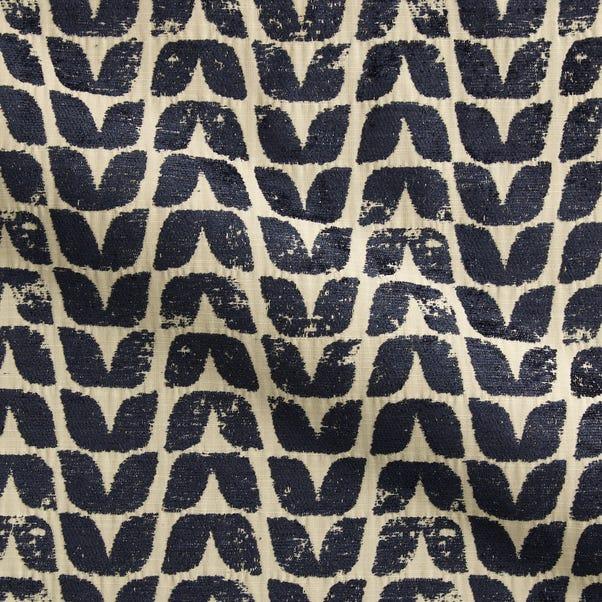 Ava Indigo Fabric Cream (Natural)
