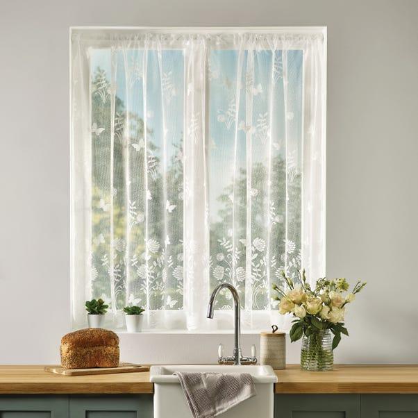 Secret Garden White Lace Panel  undefined