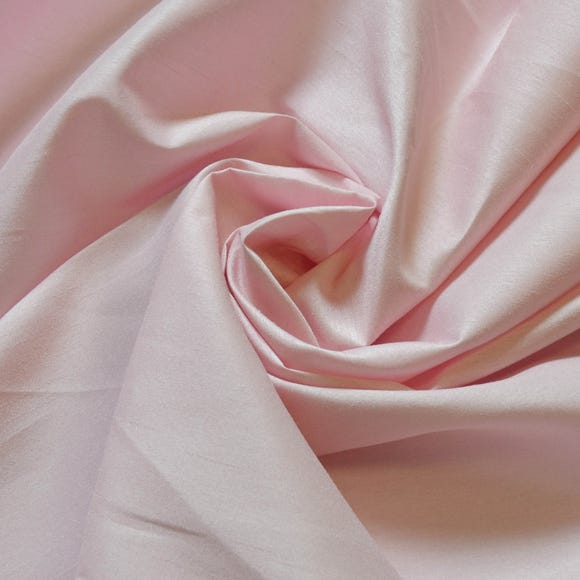 Faux Silk Baby Pink Fabric