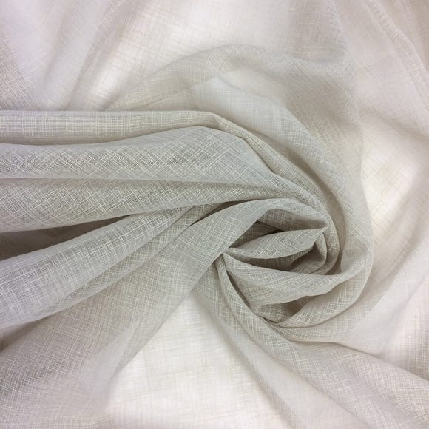 Stone Linen Look Fabric