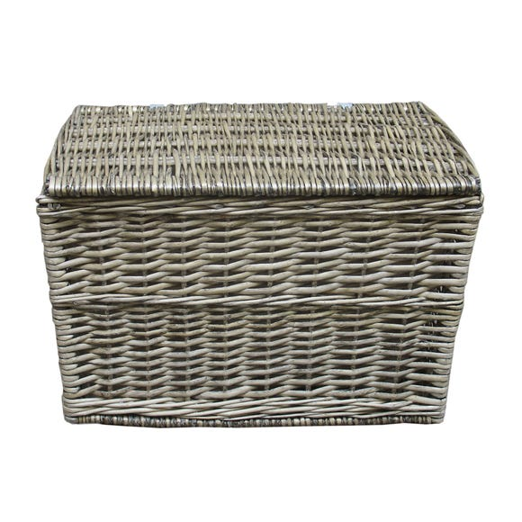 Willow Ottoman and Liner Grey undefined