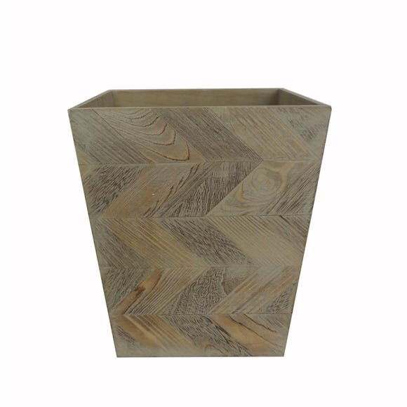 Chevron Natural Bin Natural (Brown)