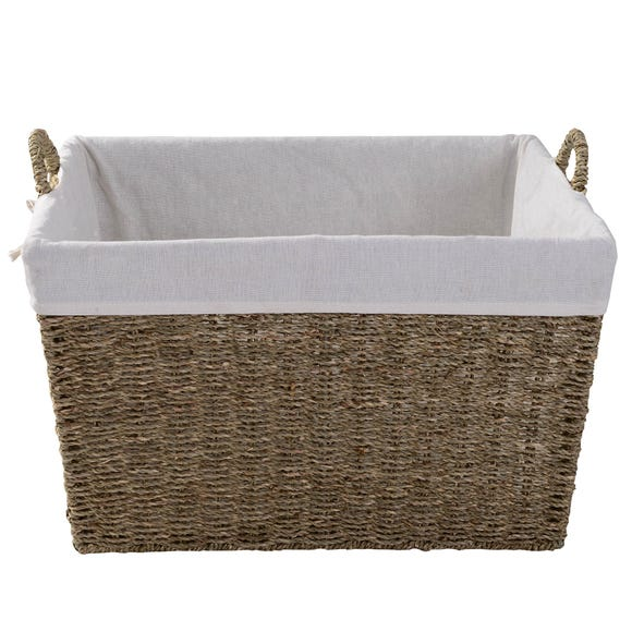 Seagrass Tapered Basket  undefined