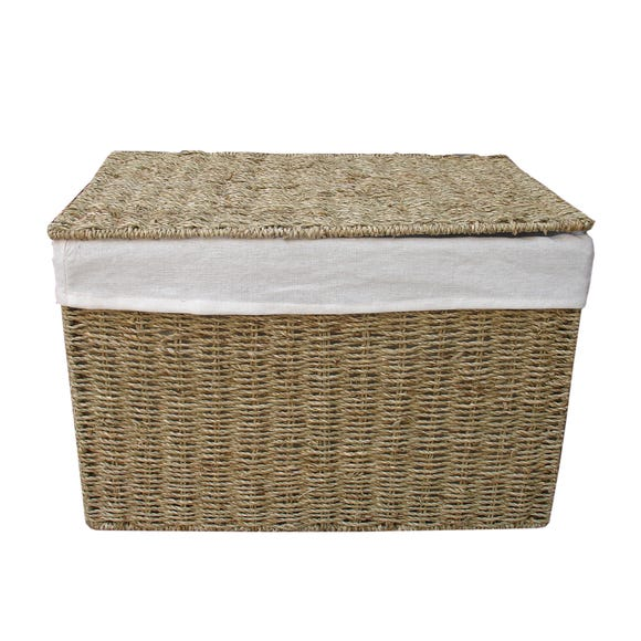 Seagrass Ottoman Natural undefined