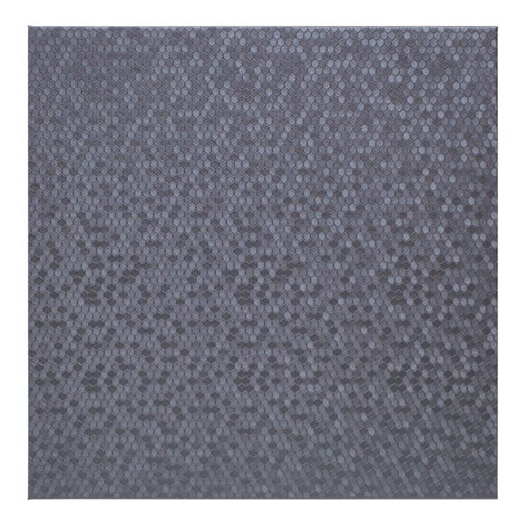 Honeycomb Pack of 4 Silver Placemats Silver