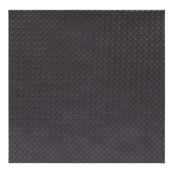 Grey Weave Pack of 4 Placemats Grey