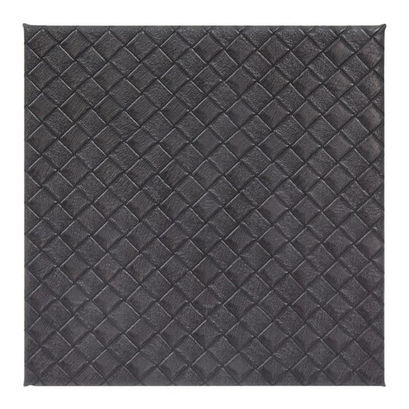 Grey Weave Pack of 4 Coasters Grey
