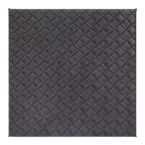 Grey Weave Pack of 4 Coasters