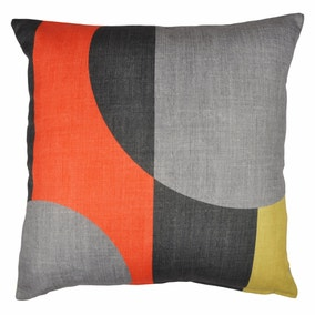 Elements Blocks Orange Cushion