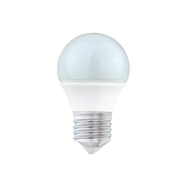 Dunelm 5.5 Watt ES Pearl LED Round Bulb White