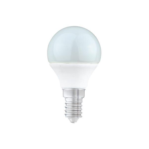 Dunelm 5.5 Watt SES Pearl LED Round Bulb 3 Pack White