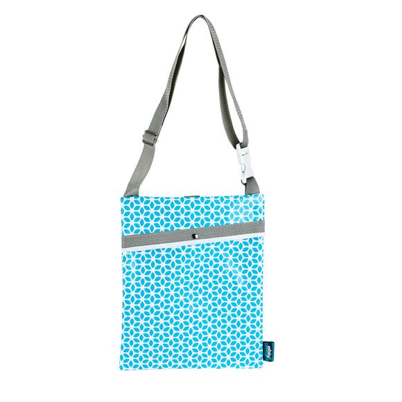 Minky Over the Shoulder Peg Bag Blue