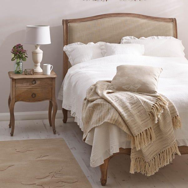 Amelie Upholstered Bedstead Brown undefined