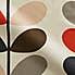 Orla Kiely Multicoloured Stem Tomato Cotton Fabric MultiColoured