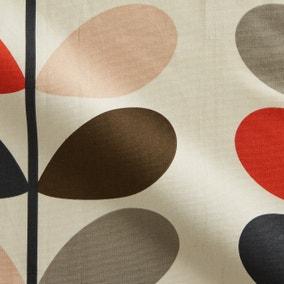 Orla Kiely Multicoloured Stem Tomato Cotton Fabric