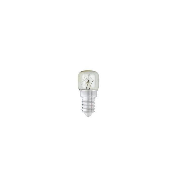 Status 15 Watt SES Clear Oven Bulb 2 Pack White