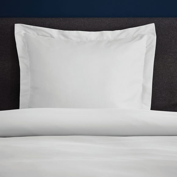 Fogarty Soft Touch White Continental Square Pillowcase