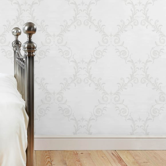 Dorma Palais Wallpaper Grey