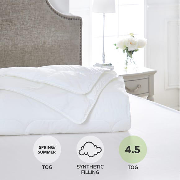 Dorma Sumptuous Down Like 4.5 Tog Duvet  undefined