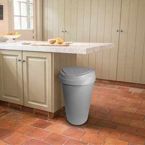Spectrum 45L Grey Touch Bin