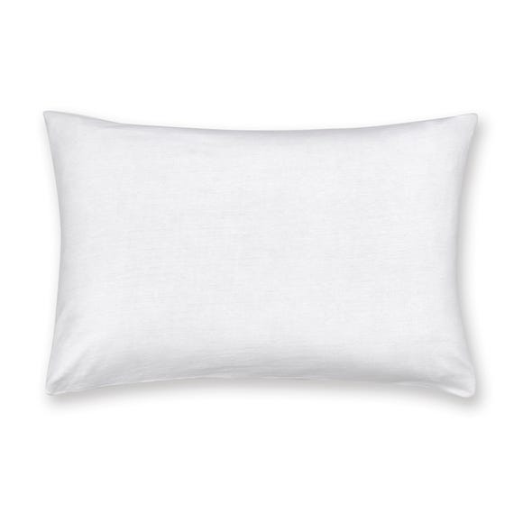 Jersey White 100% Cotton Cot Bed Pillowcase