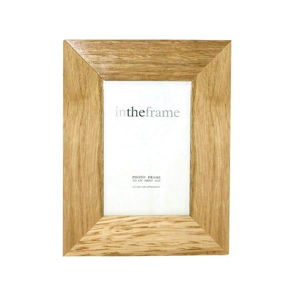Natural Wood Frame Brown undefined